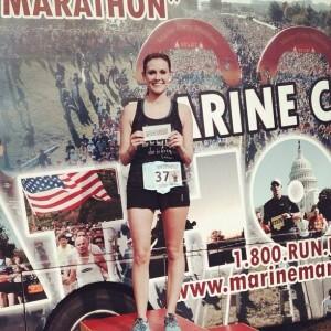 Becky Marine Corps Marathon
