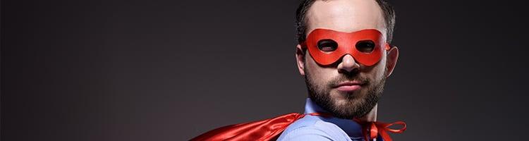 Superhero's Eyes